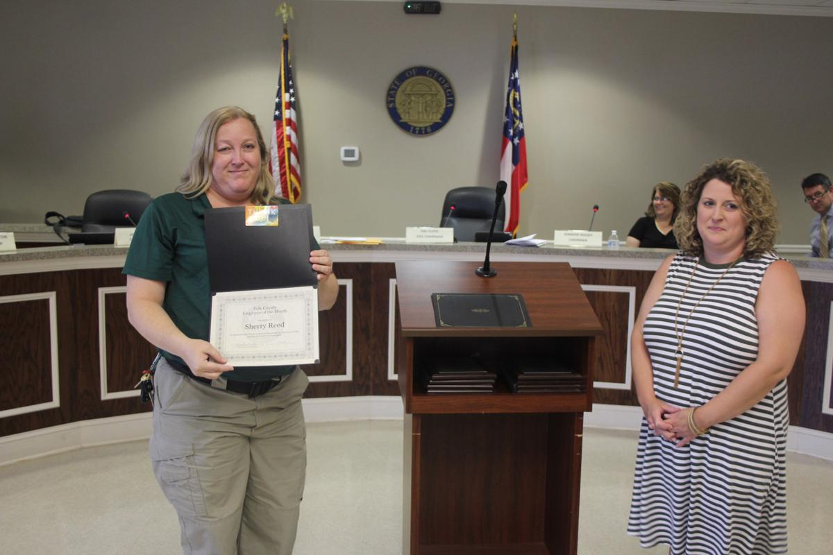 Polk County Employee of the Month - July 2018