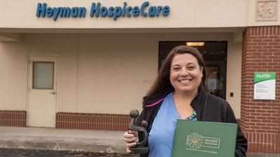 Hospice nurse earns DAISY award