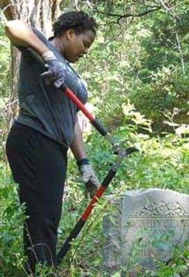 Volunteers clean Zuber Cemeter   Local New