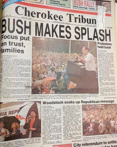 Bush in Woodstock