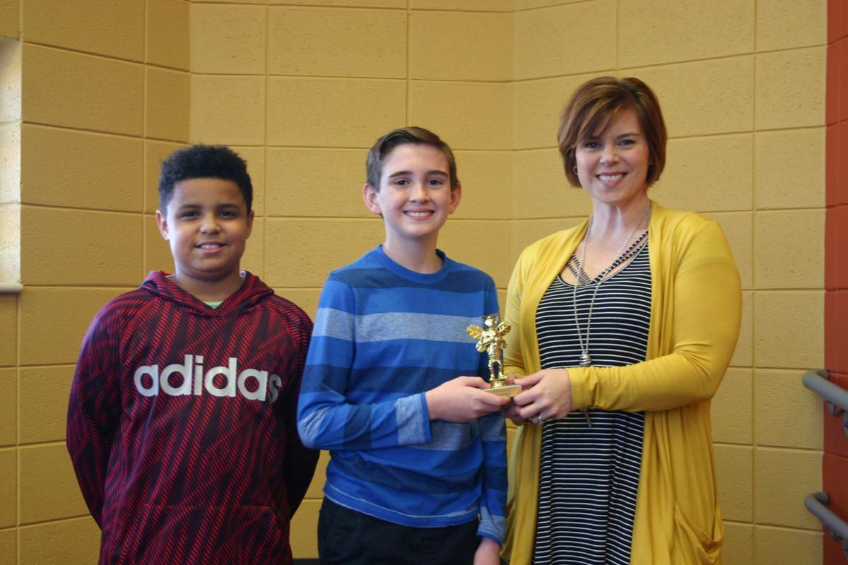 2018 Youngs Grove Elementary Spelling Bee winners