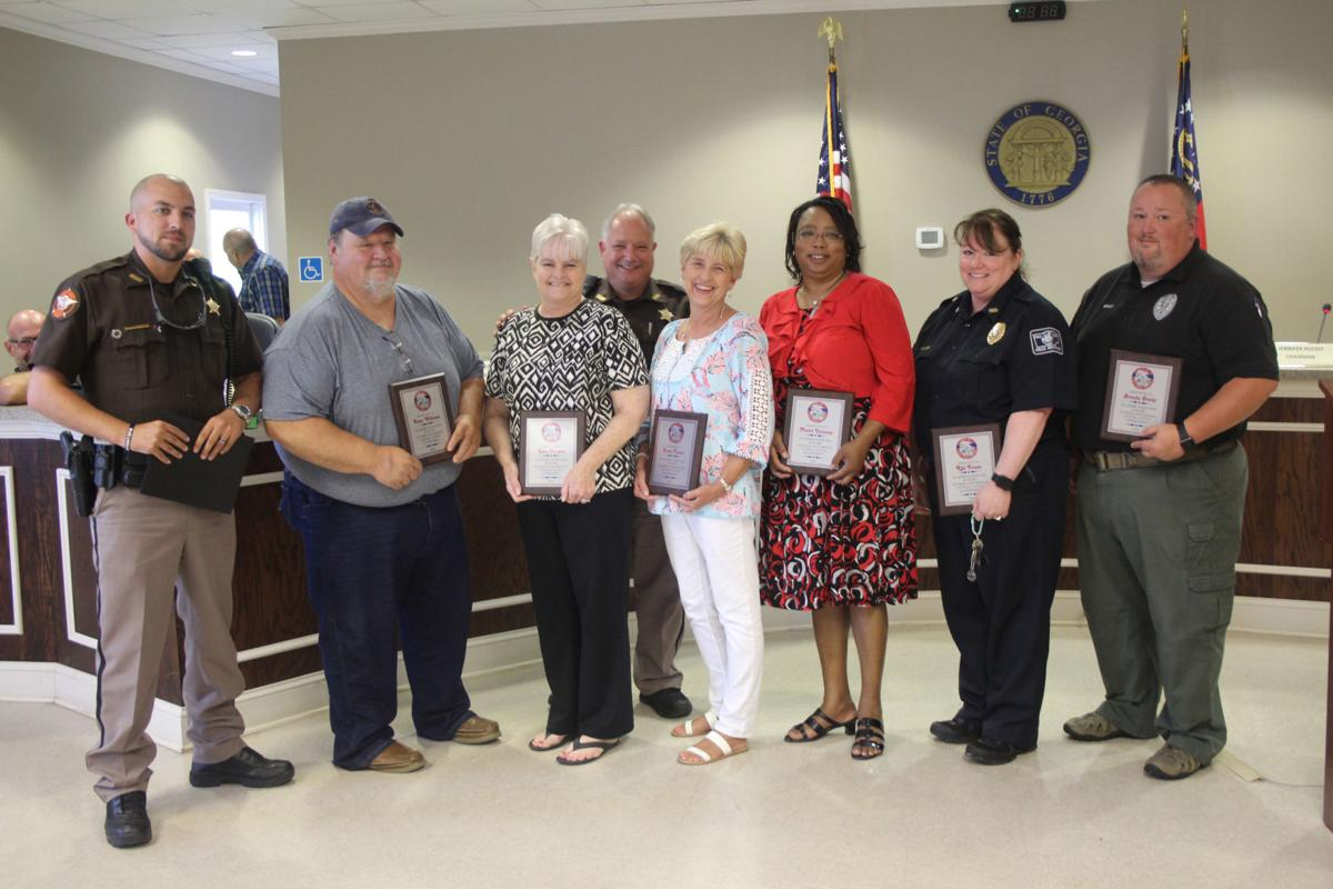 Polk County employees honored for service