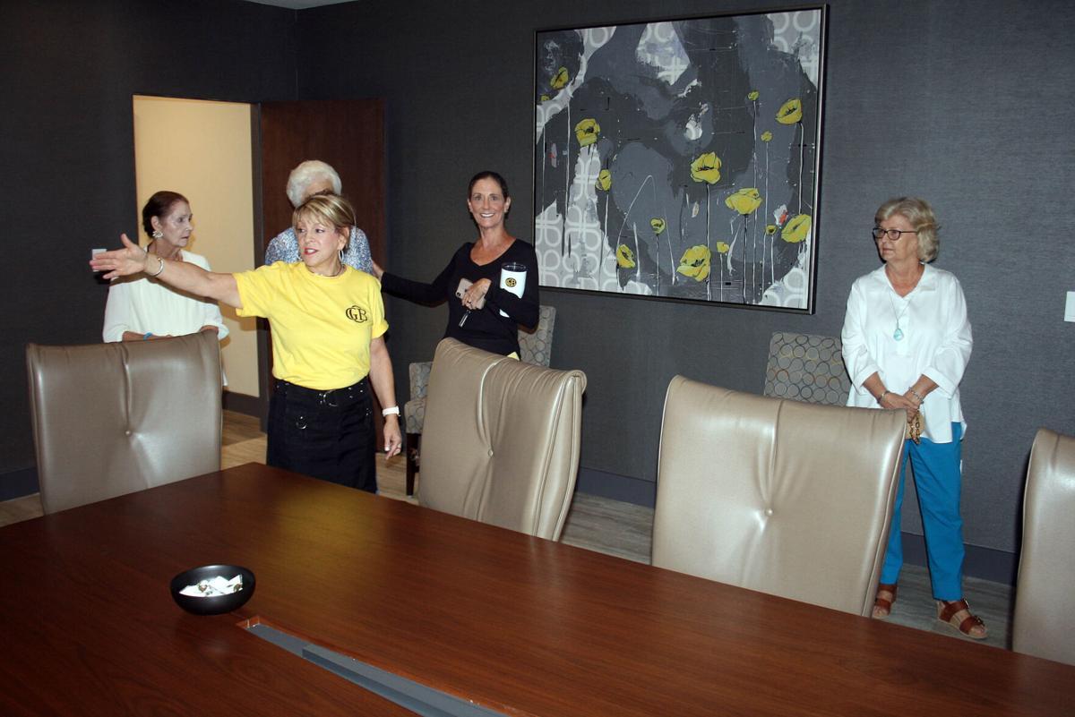 McEntyre shows off board room