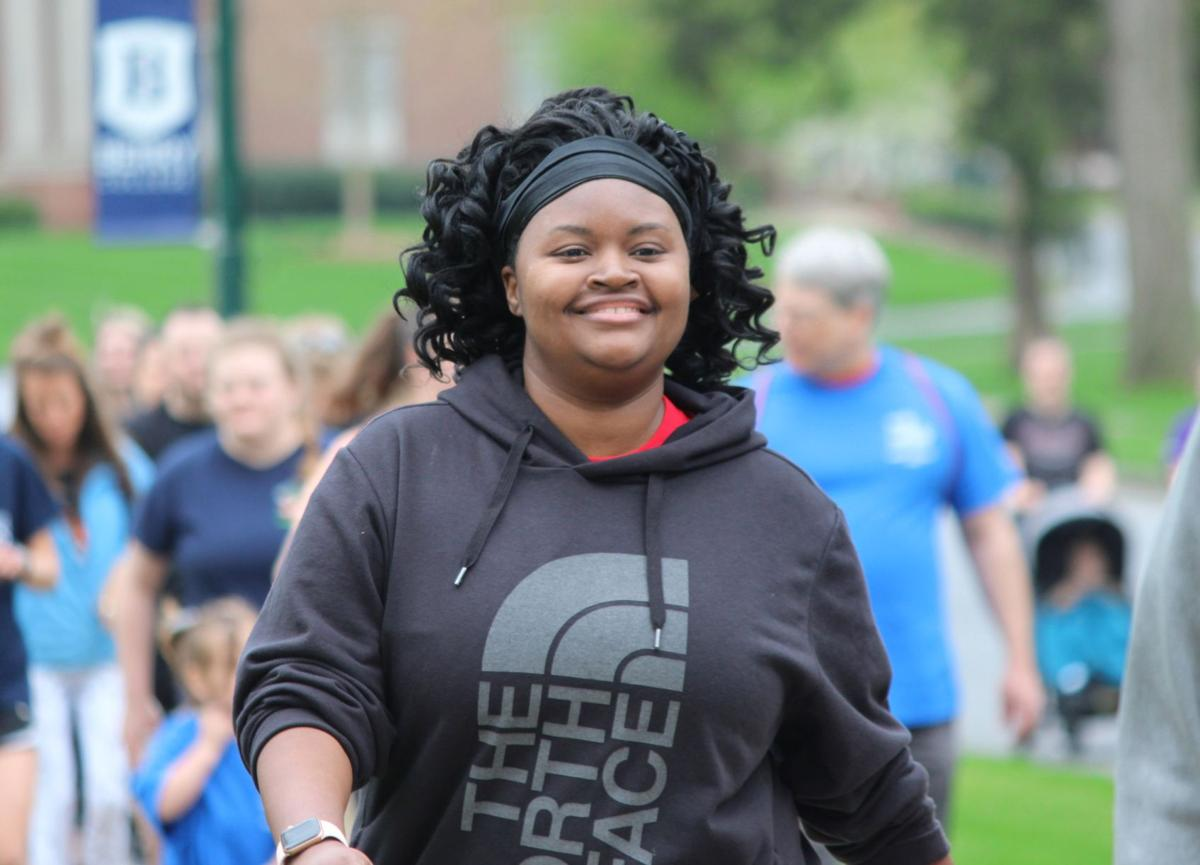 Walking to end MS