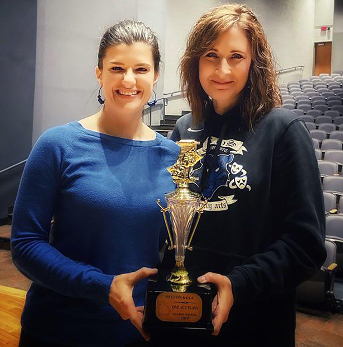 Ringgold High School Jane Ellis and Kelly Schroder