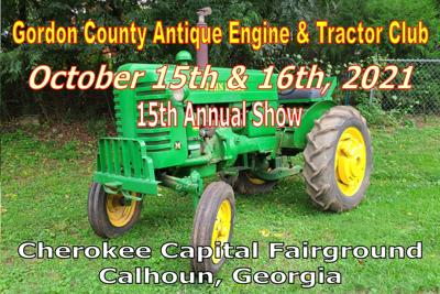 Gordon County Antique Engine and Tractor Club holding 15th annual show
