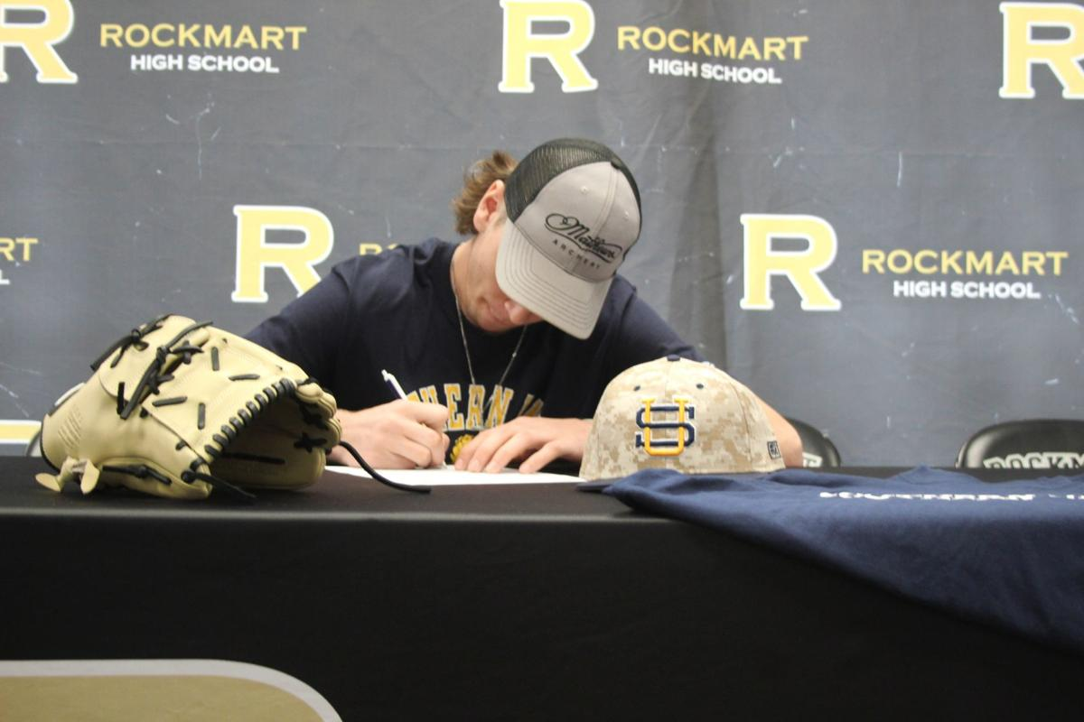 Brayden Cole signs with Southern Union