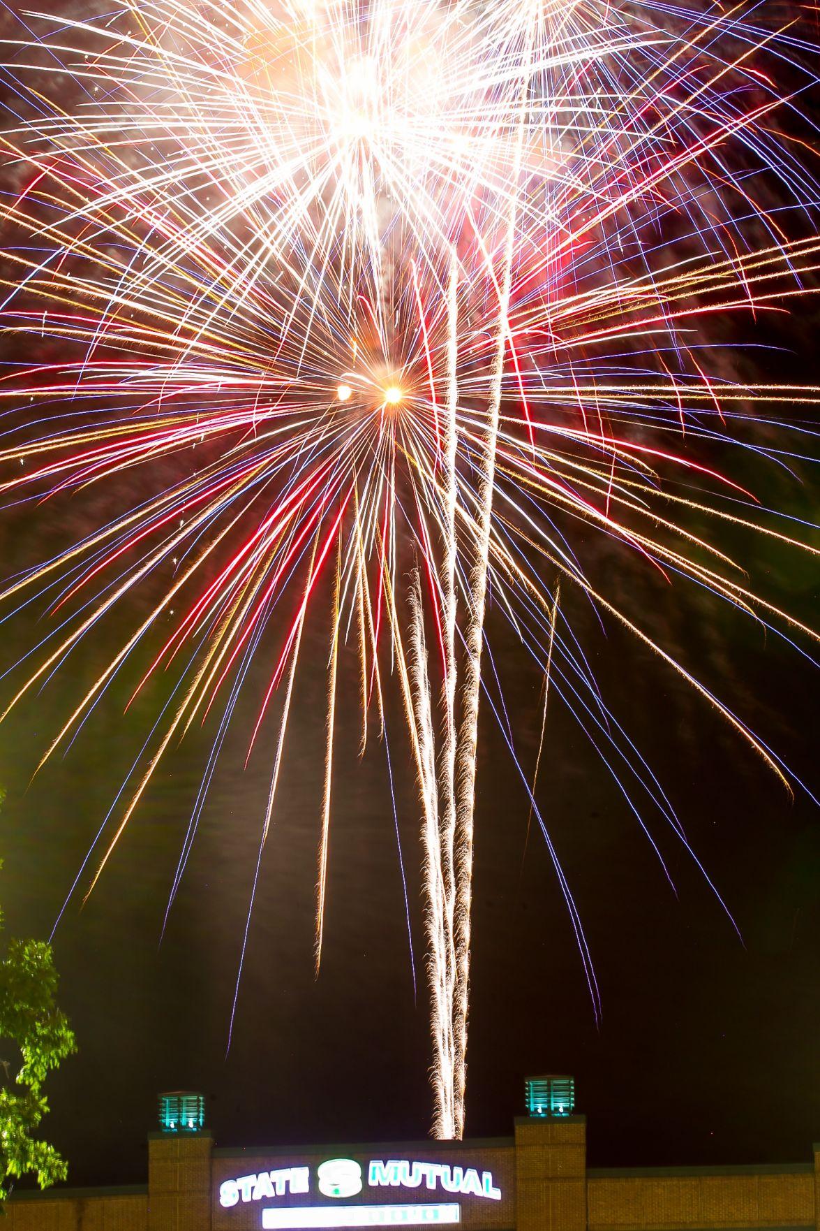 Rome Braves fireworks