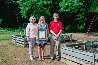 East Central wins state gardening award