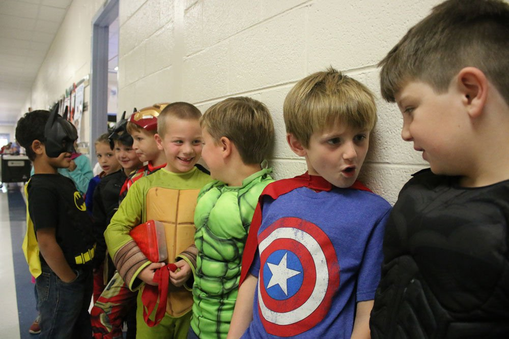 Super Hero Day At Garden Lakes Elementary School Gallery
