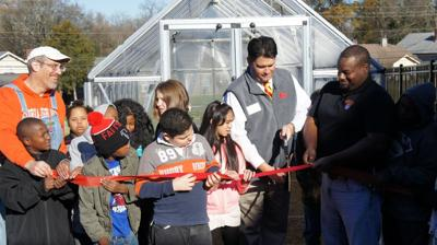 GHC partners to open new outdoor classroom at Anna K. Davie Elementary School