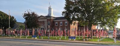 Flags in Ringgold