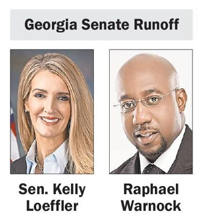 Loeffler-Warnock Georgia Senate Runoff