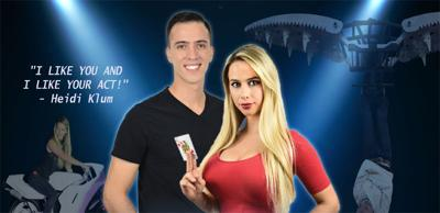 "Tickets on sale now for Illusionists David & Jenny from ""America's Got Talent"""