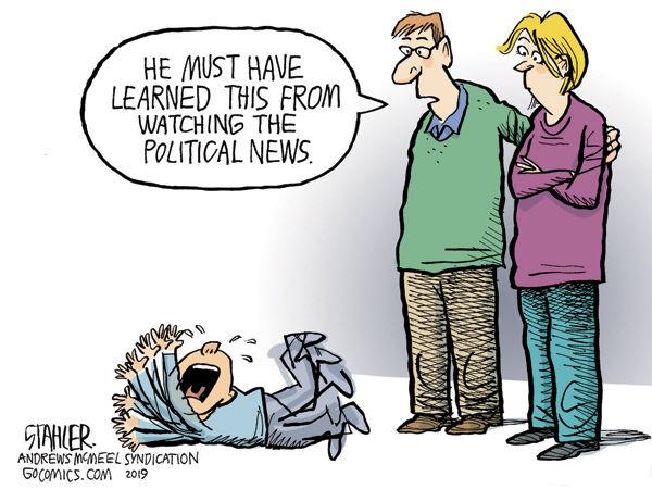 Political tantrums