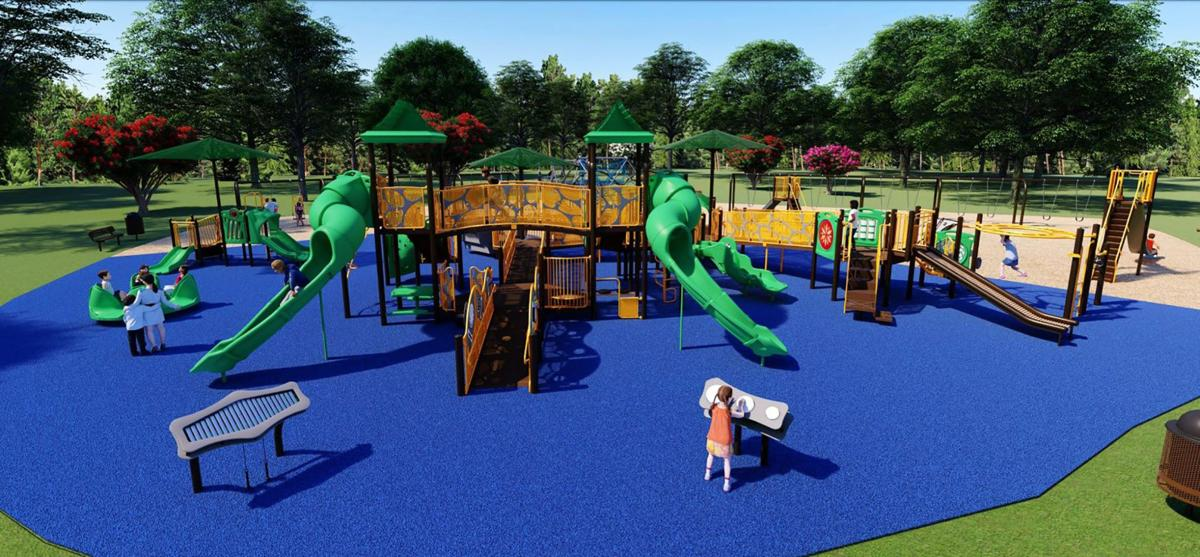 Fort Oglethorpe new playground 1