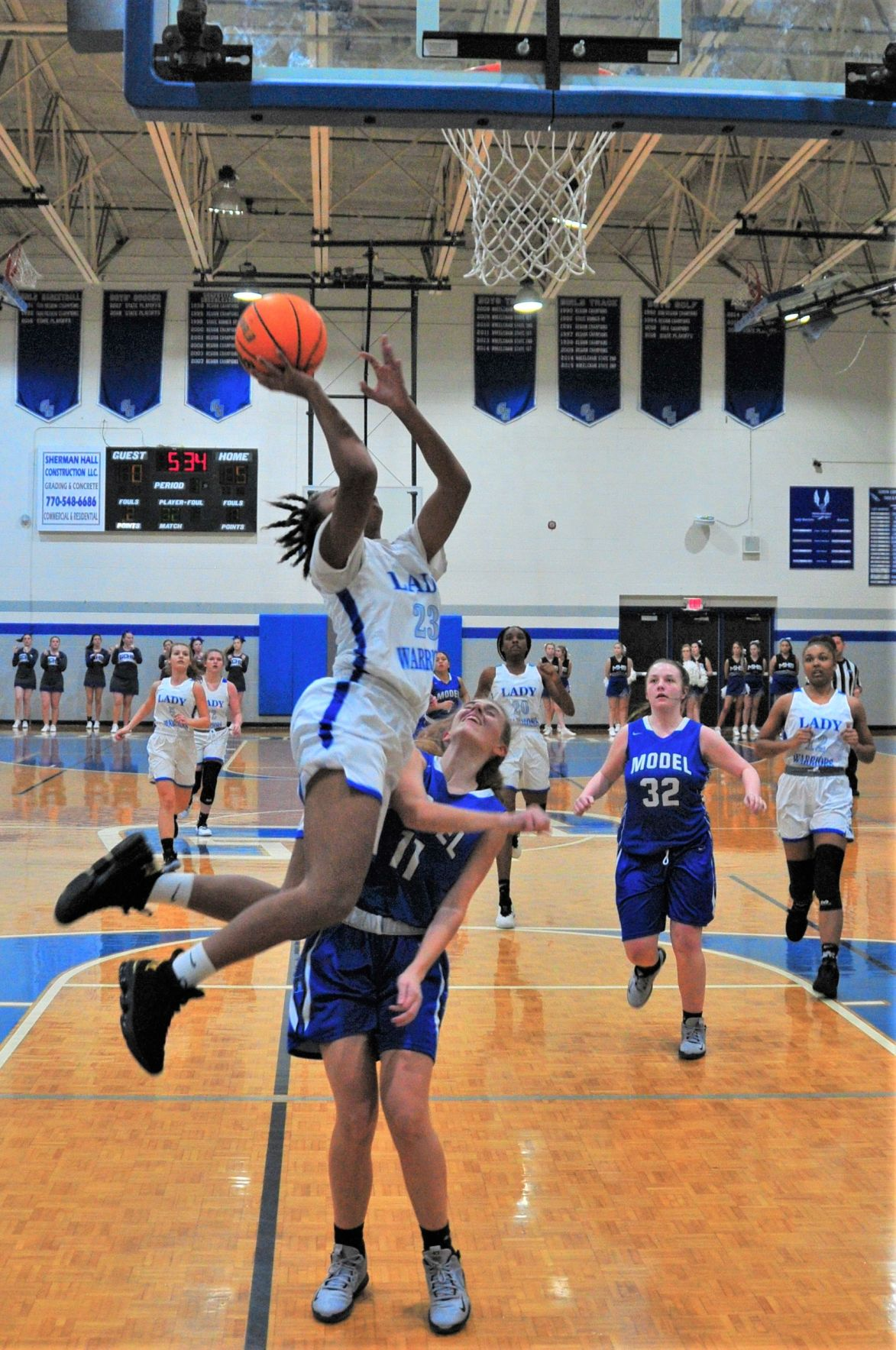 Gordon Central's Mercedes Coleman vs. Model High School