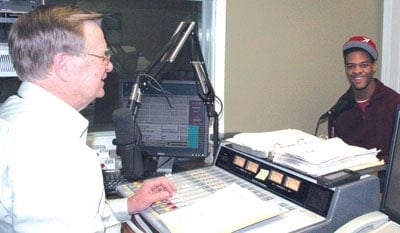 A.J. Starr at WEIS Radio