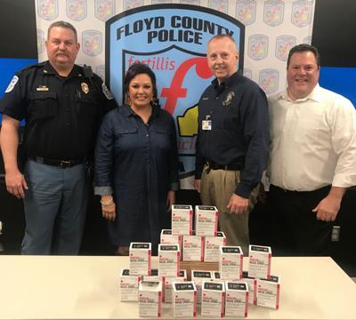 Floyd Against Drugs donates opioid spray antidote to police