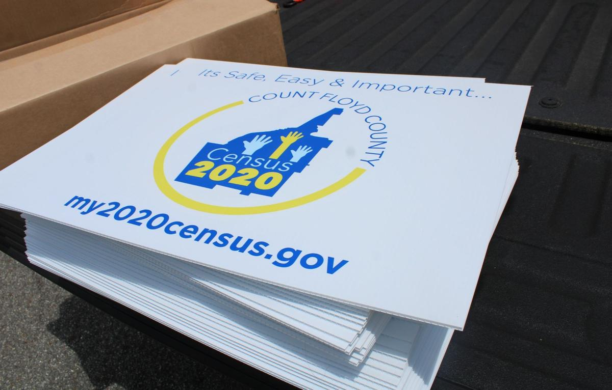 Census motorcade reminds Floyd County residents to be counted