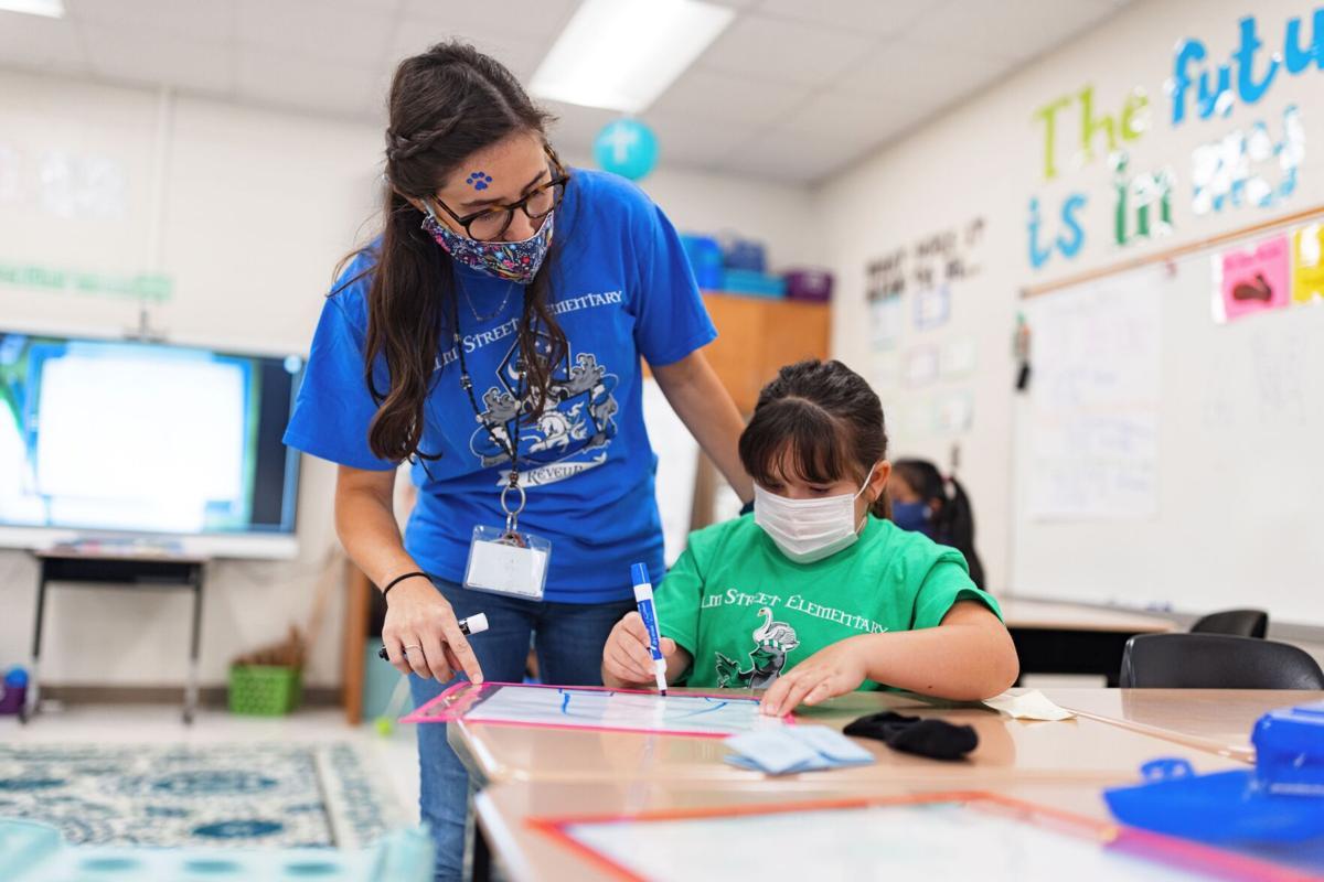 Elm Street Elementary adopts house system to encourage fun, good behavior