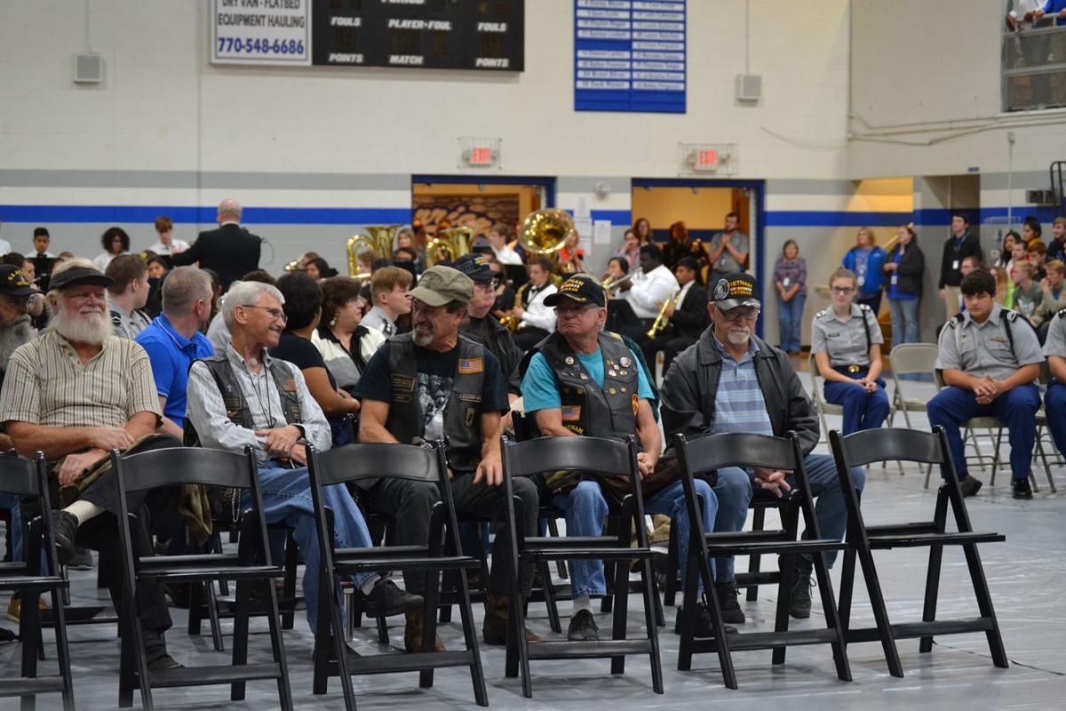 Gordon Central High School Veterans Day Program