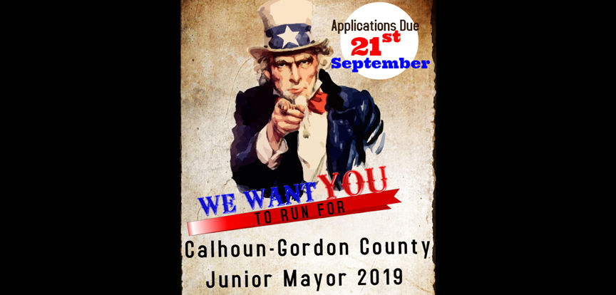 Deadline to run for this year's Junior Mayor Election is Friday, Sept. 21