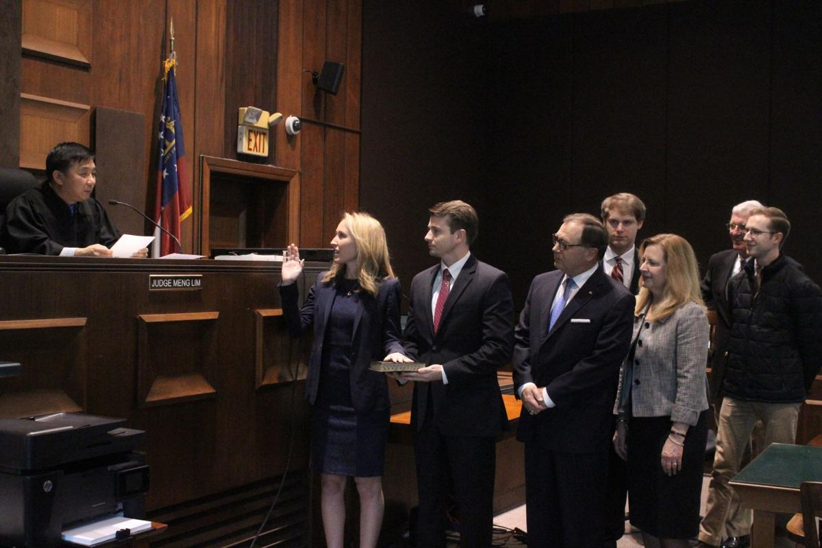 Wheale sworn in as Tallapoosa Circuit Juvenile Court Chief Judge