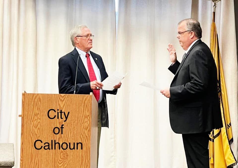 City swears in Stephen M. King to school board