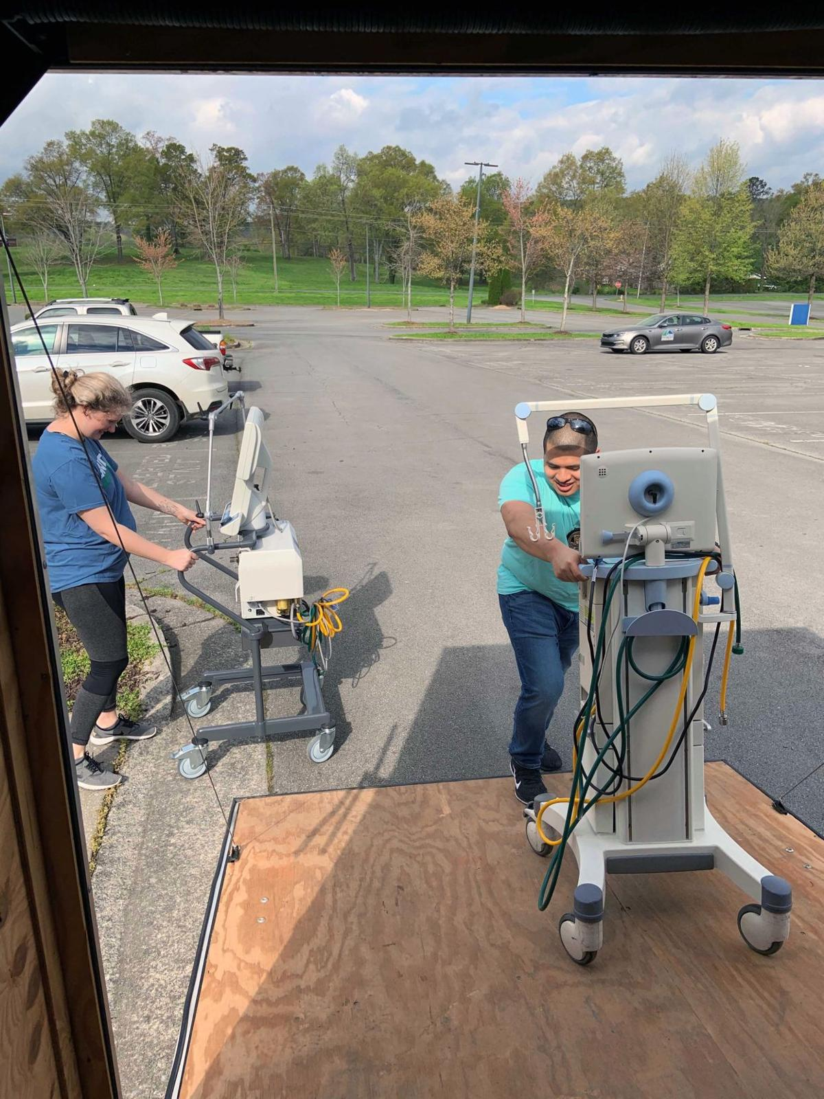 GNTC donates ventilators to Georgia Emergency Management Agency