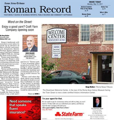 Roman Record - May 15, 2017