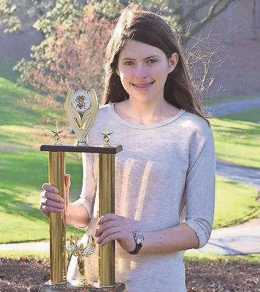 Berry 8th-grader hopes to win big at state bee