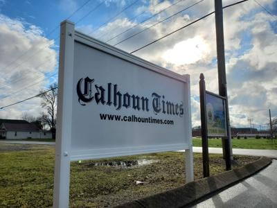 Calhoun Times sign