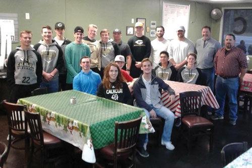 Culberson, Smoker, Calhoun High Baseball serve lunch at the VAC