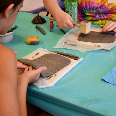 Art and theater camps offered at the Harris Arts Center