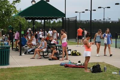 Georgia Junior Open spectators