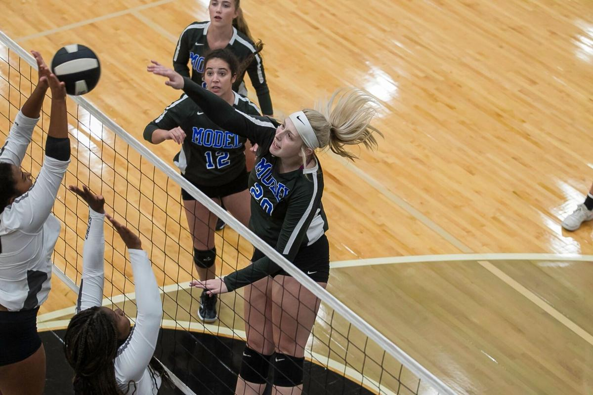 Model Volleyball - Battle of the Counties