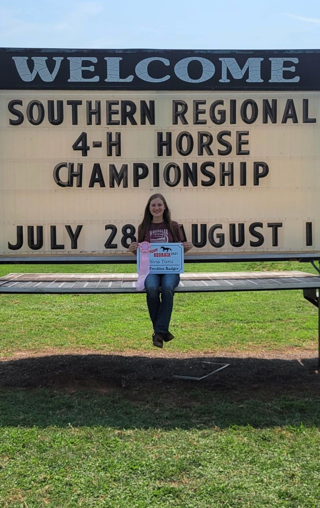 Locals place at Southern Regional 4-H Horse Championships
