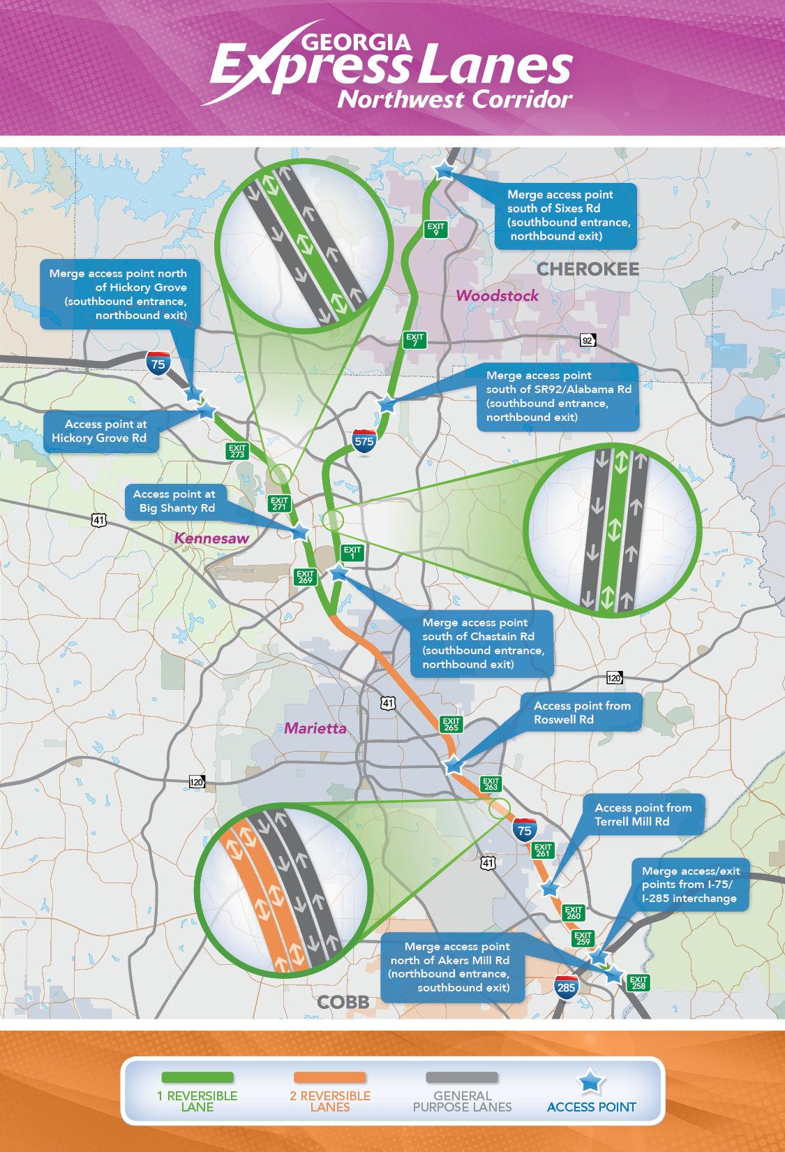 Northwest Corridor Express Lanes