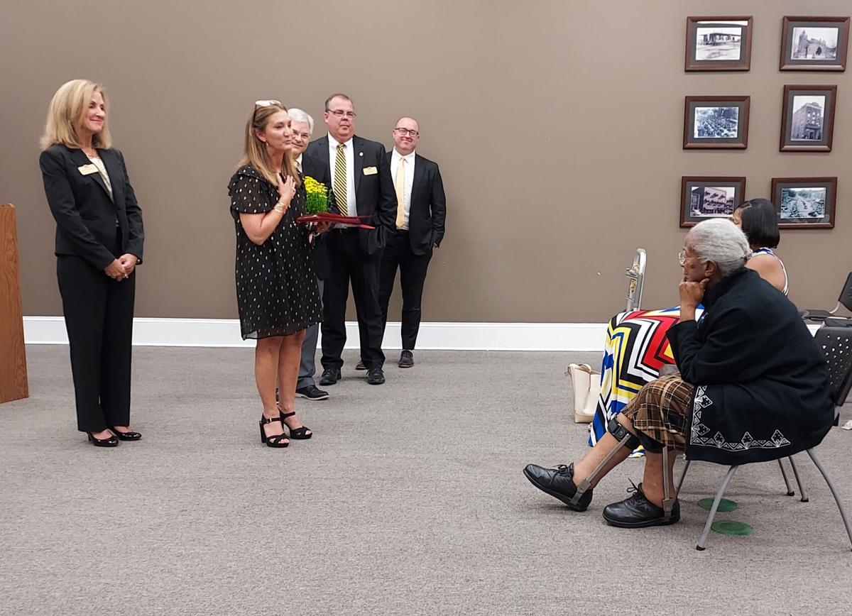 City honors retired educator Laura Pullum