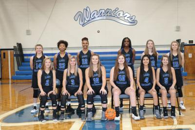 2019-2020 Gordon Central Lady Warriors Team Photo