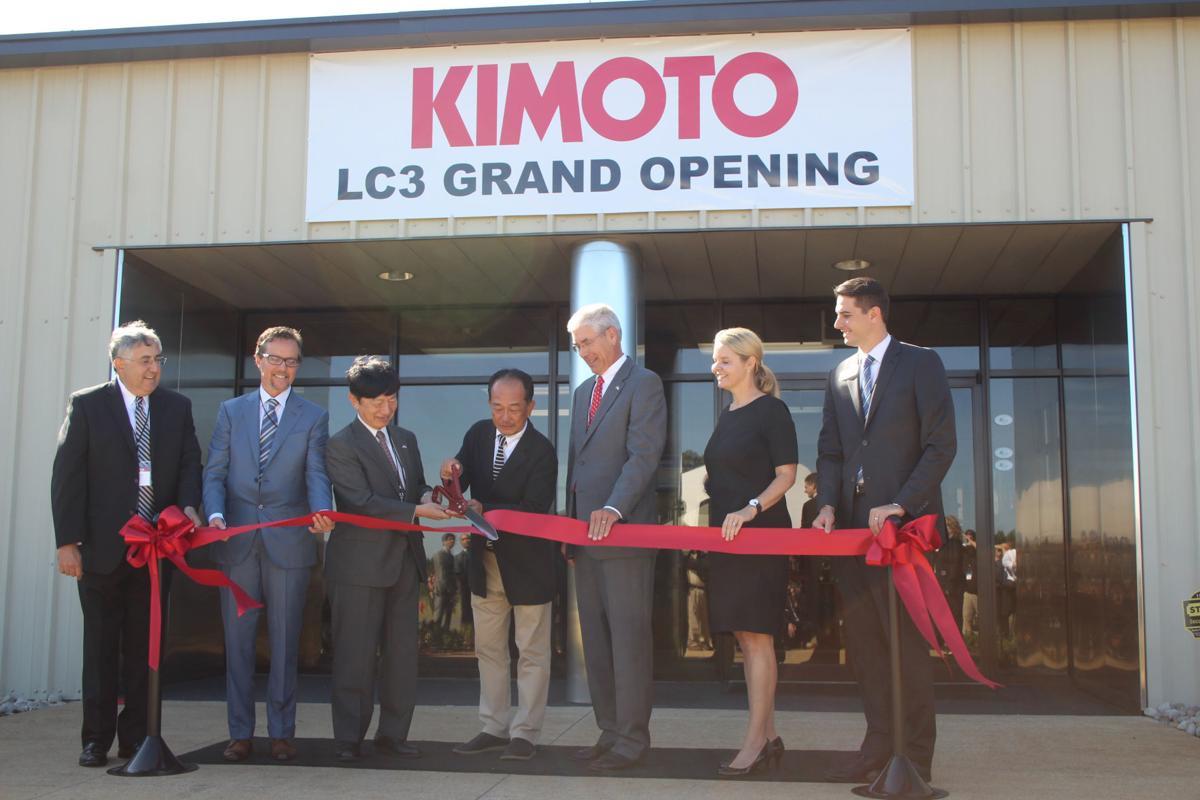 Kimoto Tech ribbon cutting