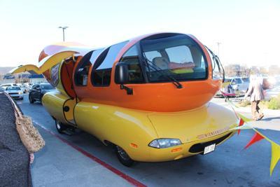 Oscar Mayer Wienermobile visits Rome