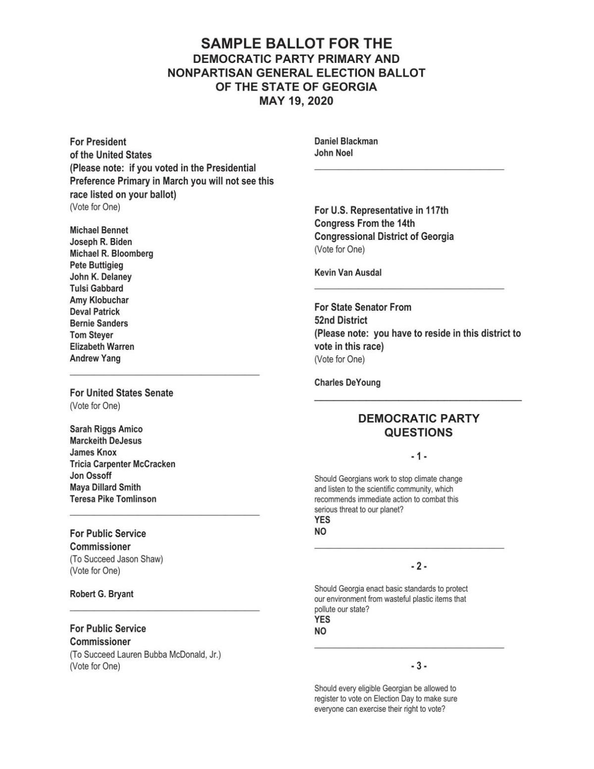 Sample Ballot for May 2020 Democratic Primary.pdf