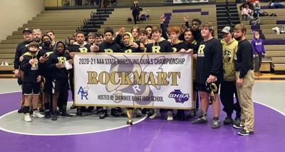 Jackets finish 3rd in state duals