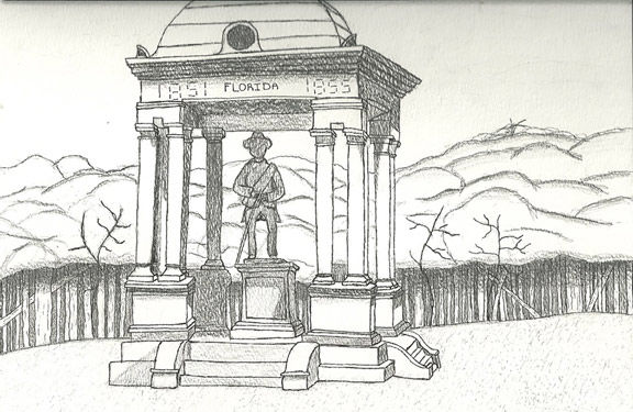 """""""The Florida Monument"""" by William Brown"""