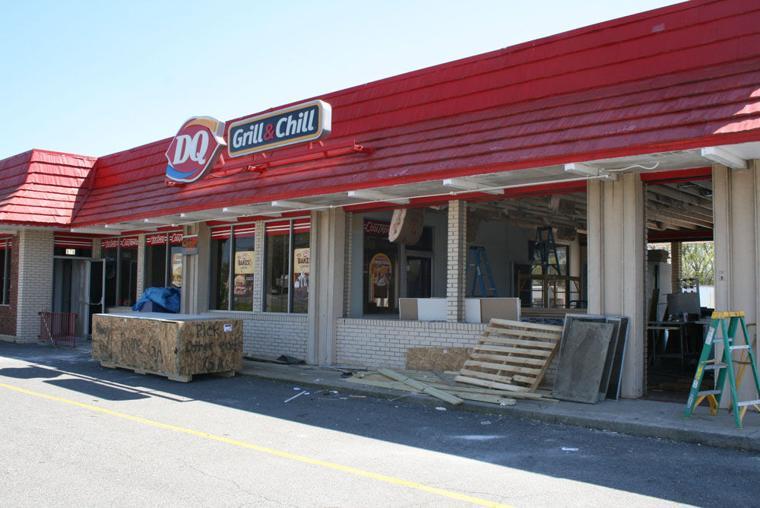 Dairy Queen Renovations On Spider Webb Drive Northwest