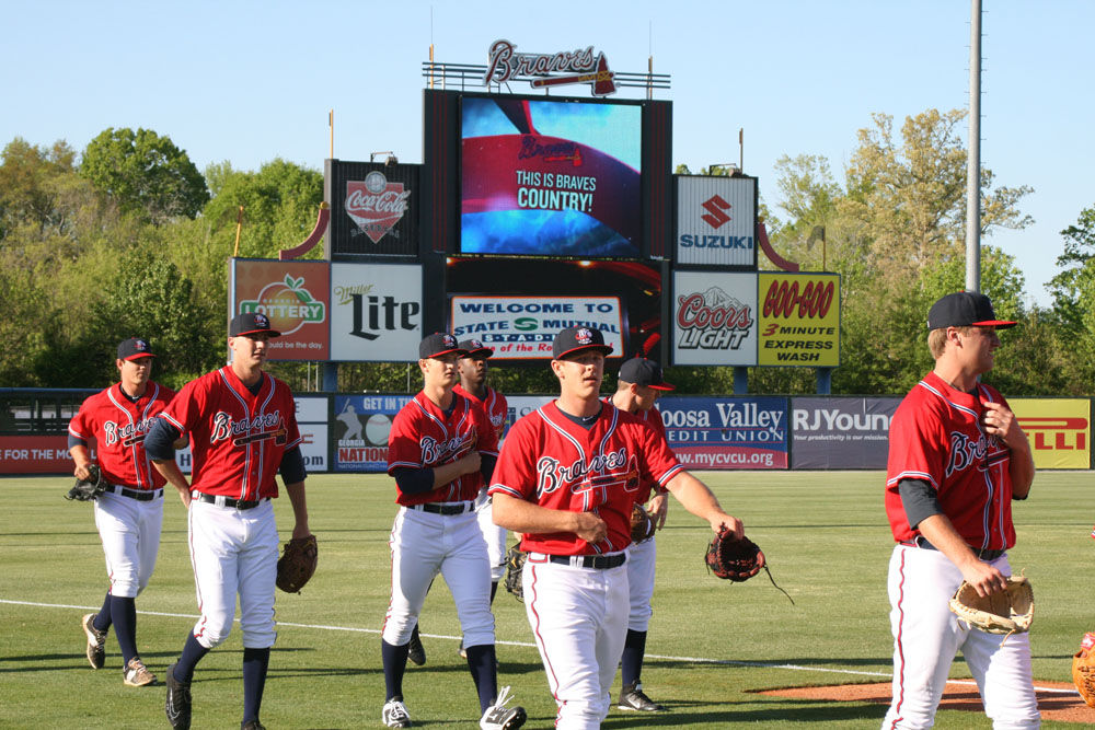 Rome Braves: First workout