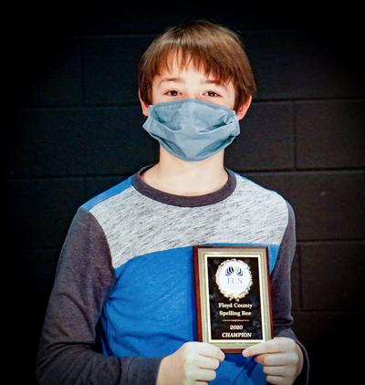 Model Middle School sixth-grader Will Hosford wins Floyd County Schools' District Spelling Bee