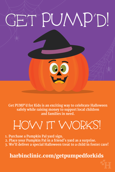 Harbin partners with children's advocacy group to bring Halloween to kids in foster care